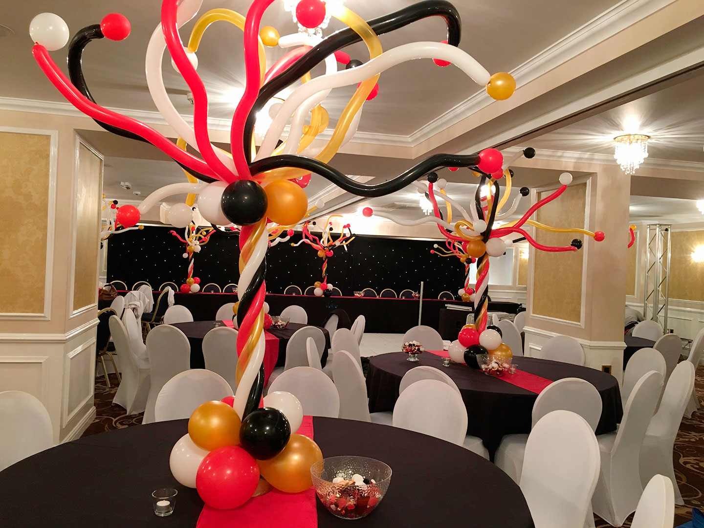 Explosion Balloons Bar Mitzvah Party